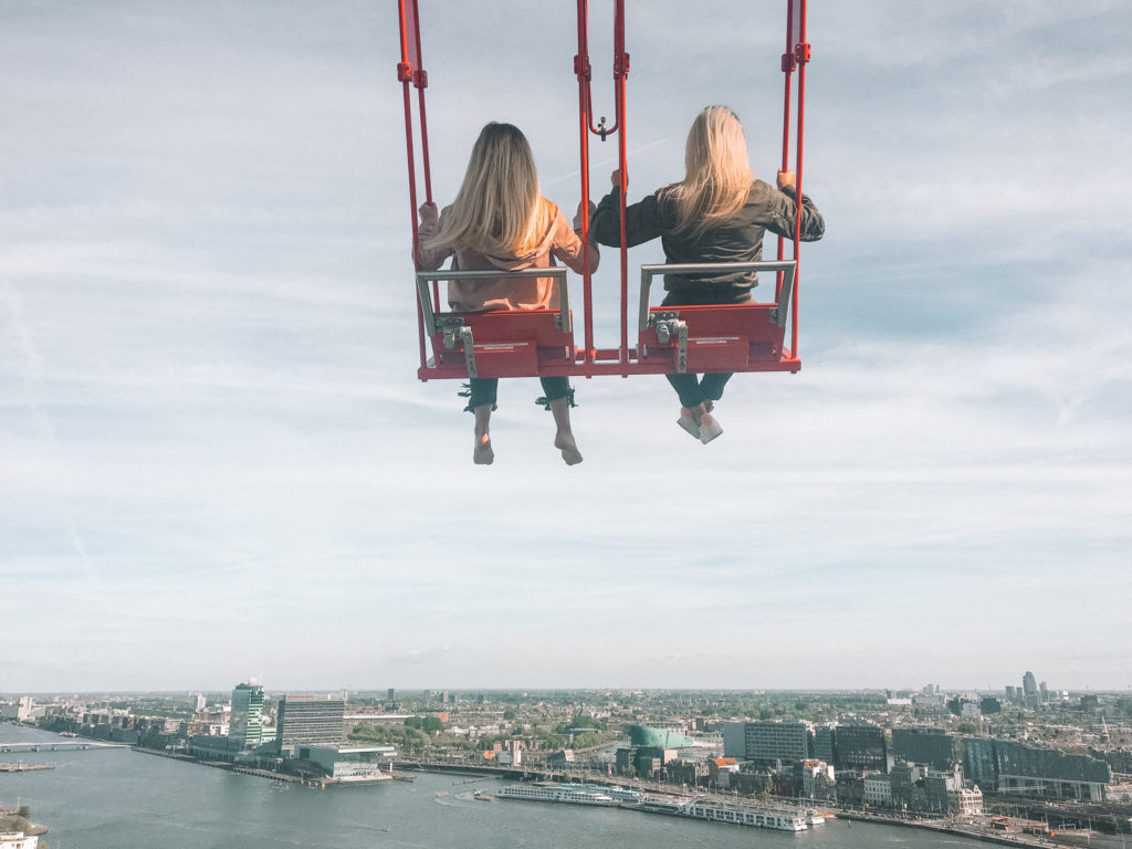 thrilling travel swing in Amsterdam