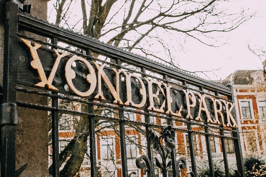 Fence of Vondelpark