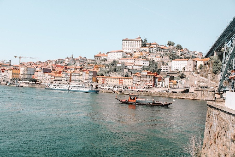 Best way to see the city with 2 days in Porto, a traditional boat along the Douro Porto River