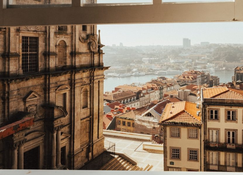Terrace view from Porto Cathedral