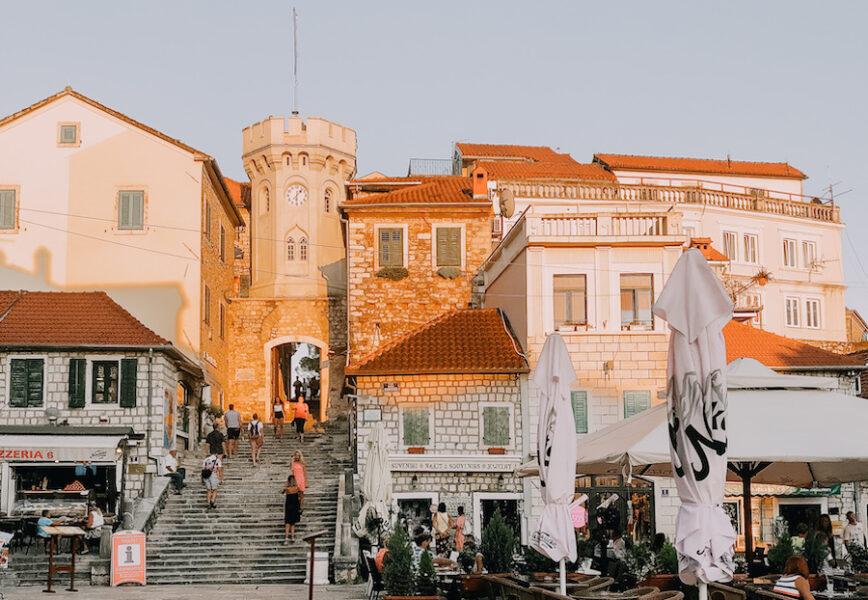 Old town in Herceg Novi