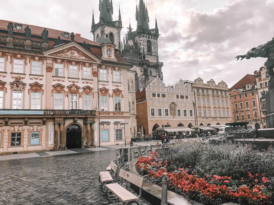 Church in Prague Old Town