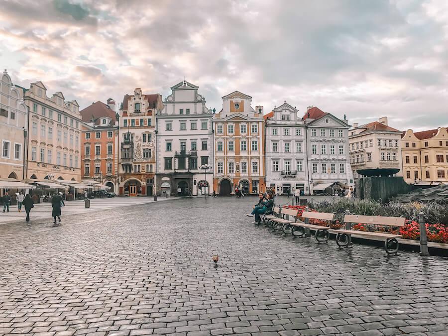 buildings in Pragues old town