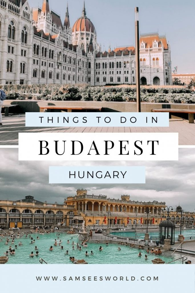 2 days in Budapest pin