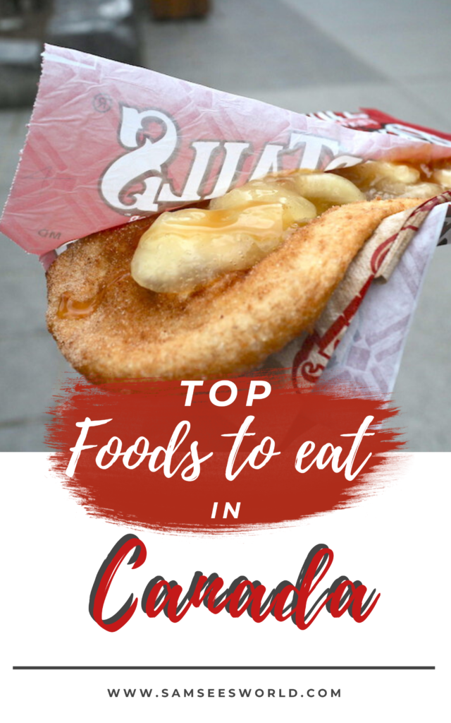 canadian foods pin