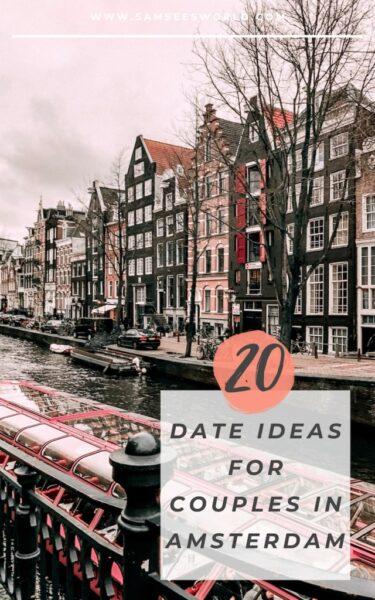 date in amsterdam pin