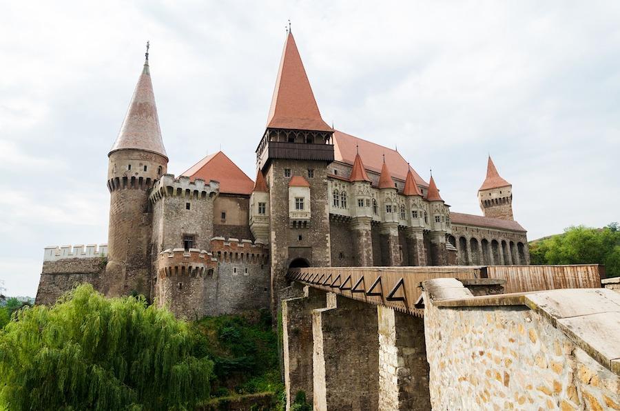 Old castle in Romania