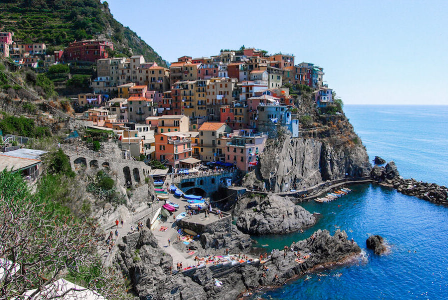 Colourful houses of Cinque Terre