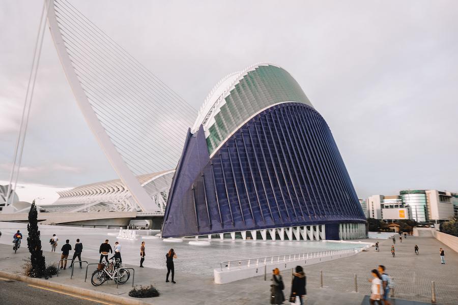 The agora and bridge