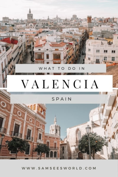 What to do in Valencia pin