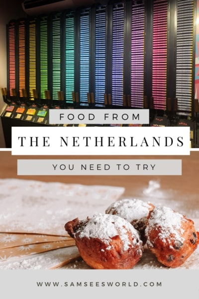 traditional dutch food pin