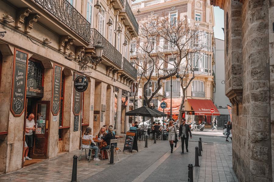 Charming street in Russafa