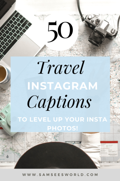 Travel Captions for Instagram pin