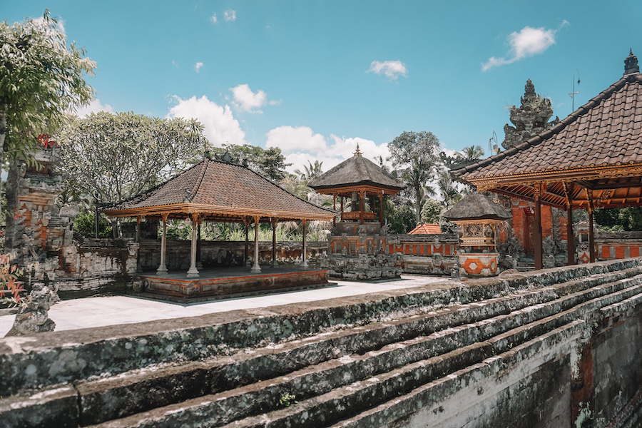 Buildings in Ubud
