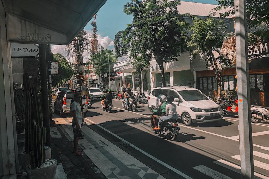 Seminyak streets