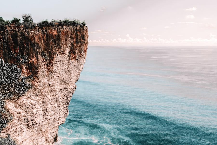 Cliff in Uluwatu