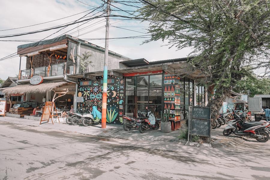 Building in Kuta Lombok