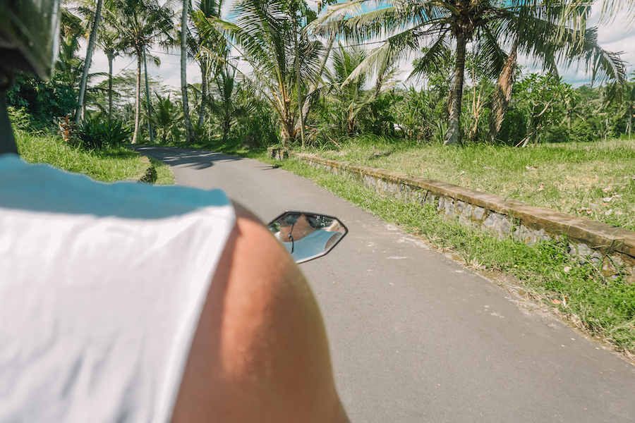 Scooter in Lombok