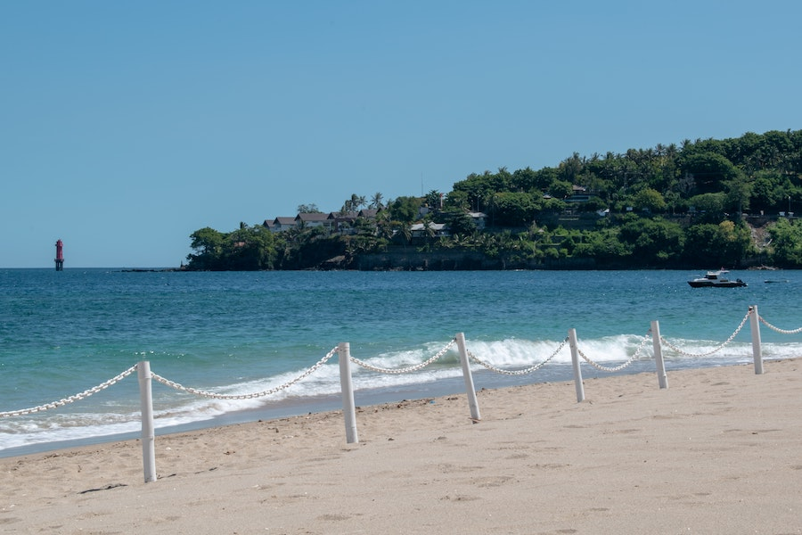 Senggigi beach in Lobok