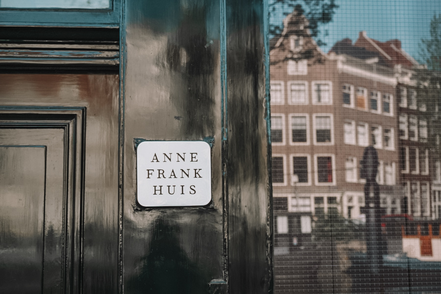 Anne Frank House Outside