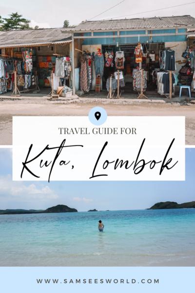Kuta Lombok pin
