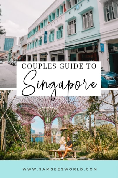 things to do in Singapore for couples pin