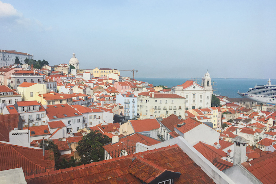 Alfama District - one day in Lisbon