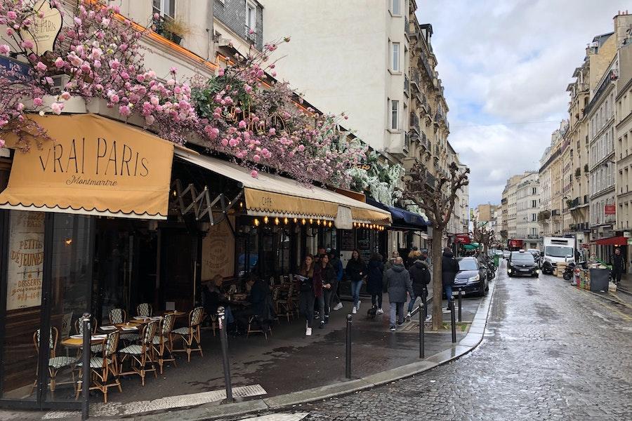 Weekend in Paris - Paris cafe