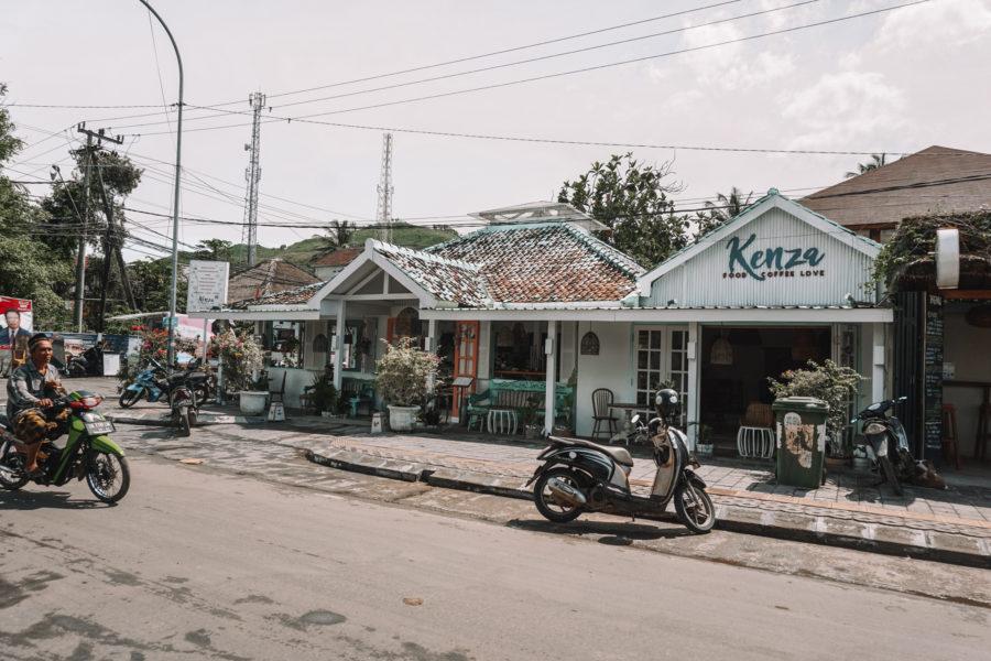 Outside of Kenza restaurant