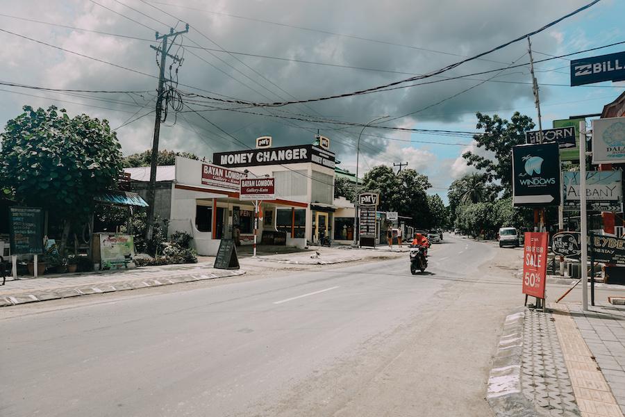 Street in Kuta Lombok