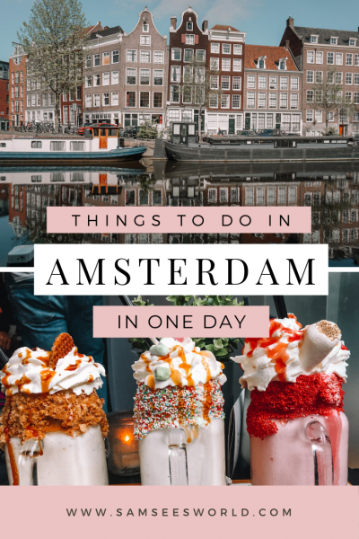 one day in Amsterdam pin