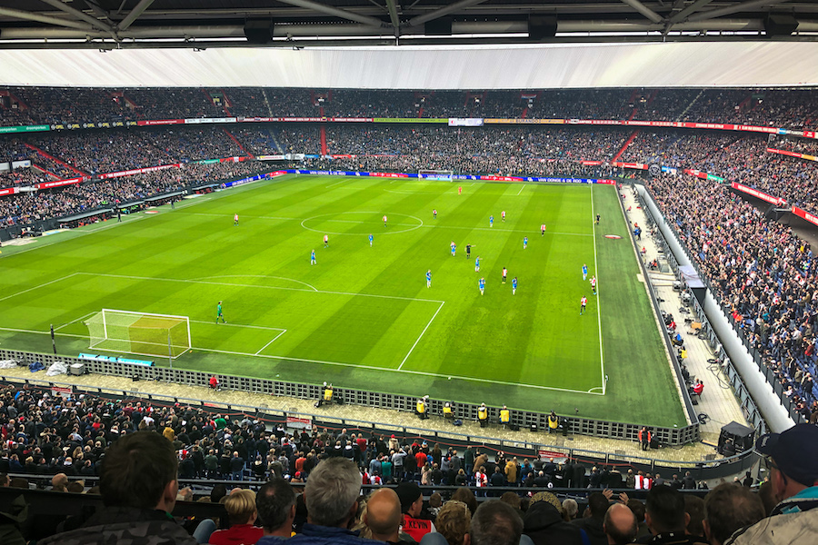 Ajax football match