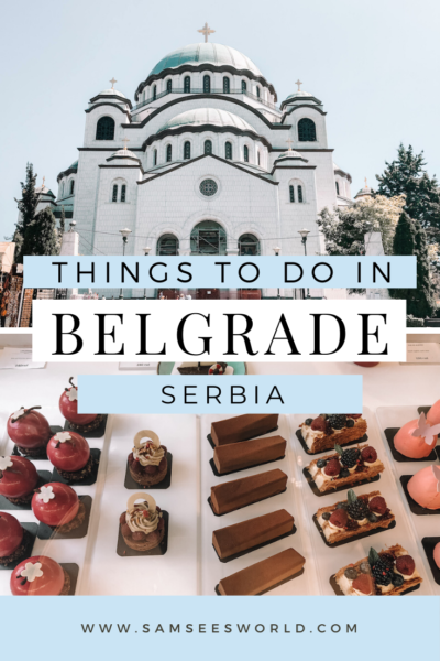 what to do in Belgrade pin