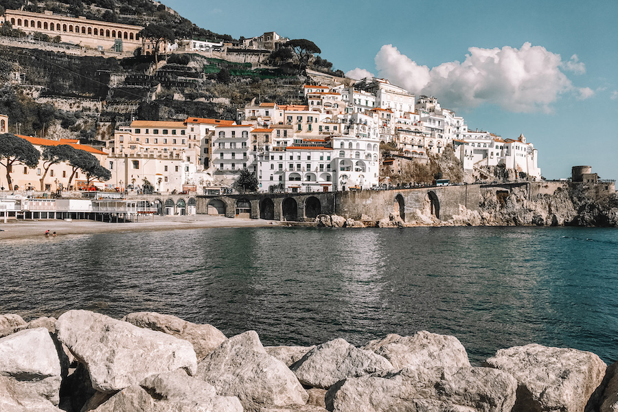 Amalfi - one of the most beautiful Amalfi Coast Towns