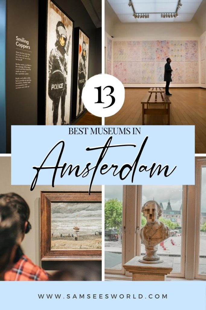 Amsterdam Museums pin