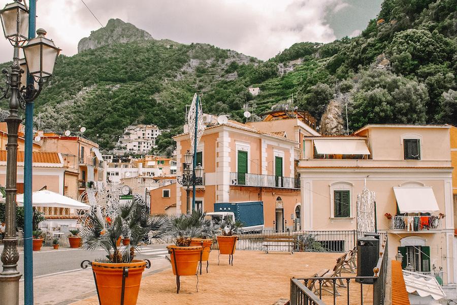 Cetara, Italy buildings