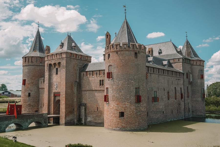 Outside of Muiderslot Castle
