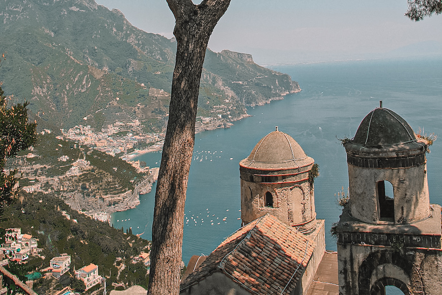 Viewpoint from Ravello, Italy