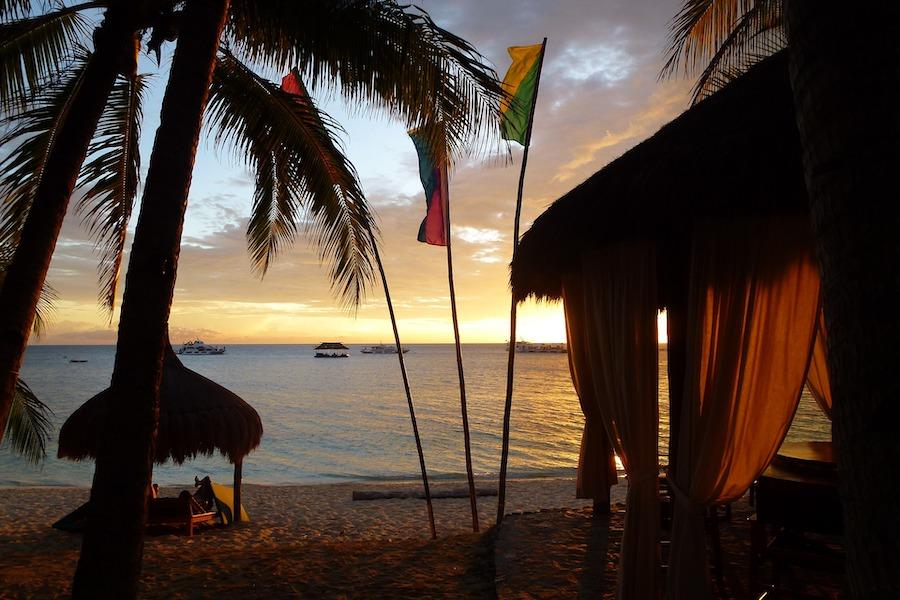 Sunset on Siquijor beach