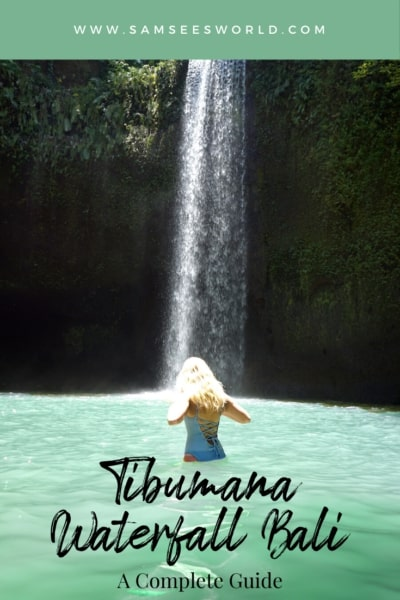 Tibumana Waterfall Pin