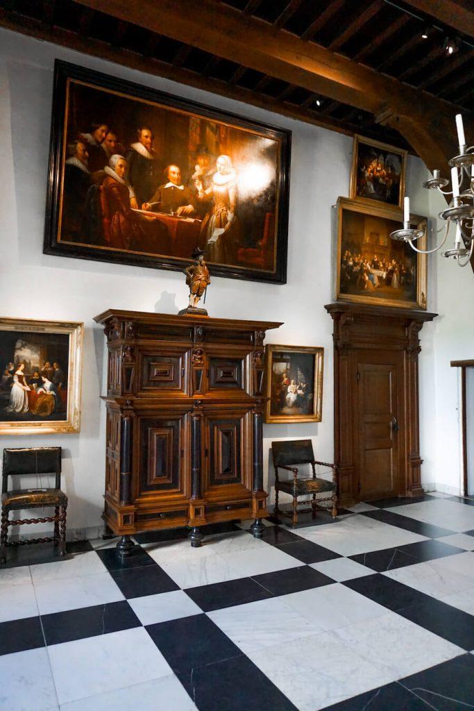 Room in Muiderslot Castle