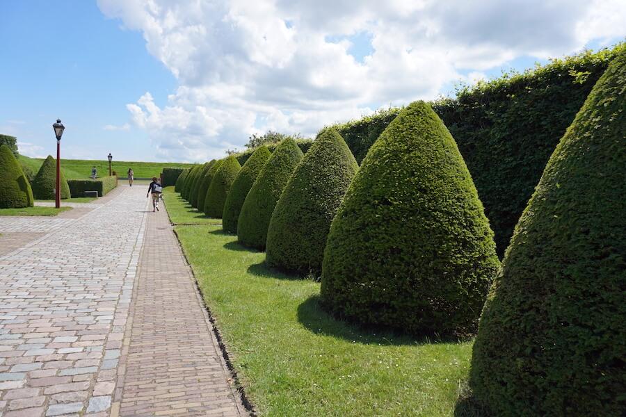 Gardens in Muiderslot