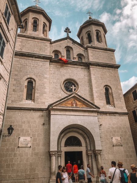 Church in Kotor's old town