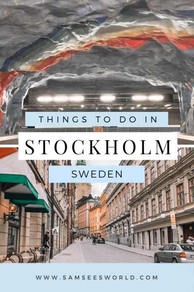 One day in Stockholm pin