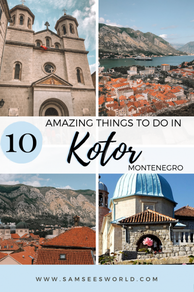 Things to do in Kotor pin
