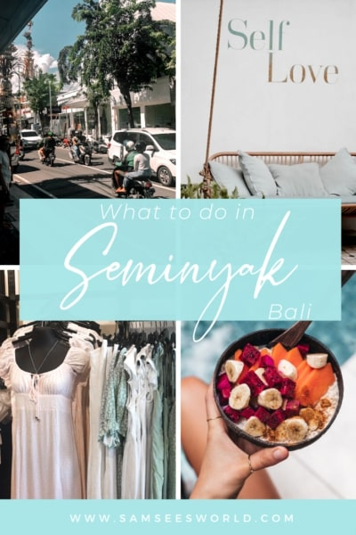 things to do in Seminyak pin