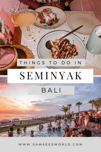 things to do in Seminyak pin