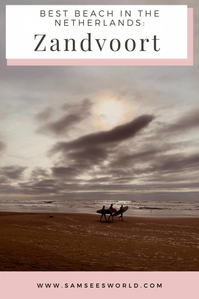 Zandvoort Beach pin