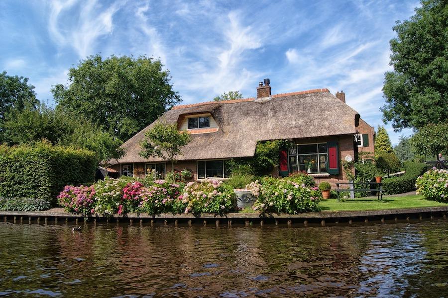 Giethoorn house