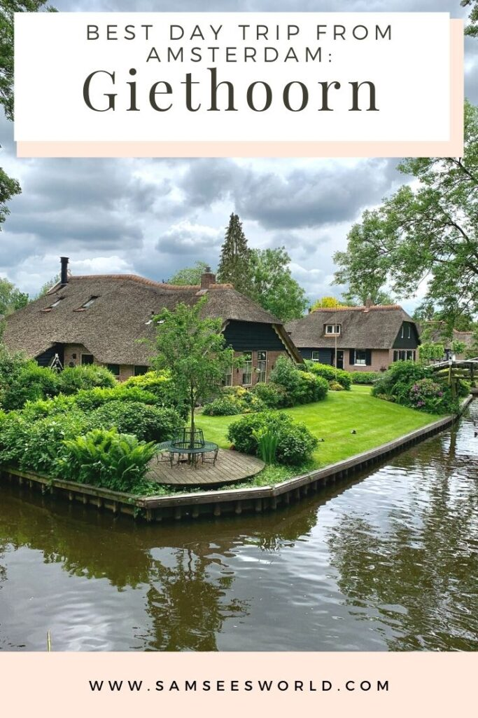 Day trip from Amsterdam, Giethoorn